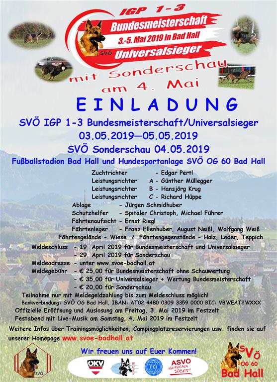 Einladung BM 2019